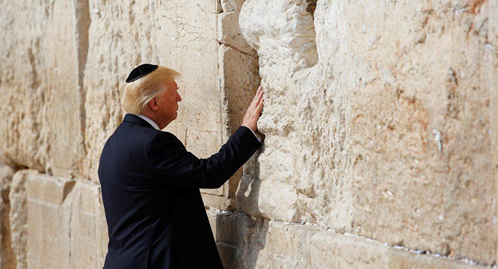 Los palestinos denuncian una declaración de EEUU sobre el Muro de las Lamentaciones
