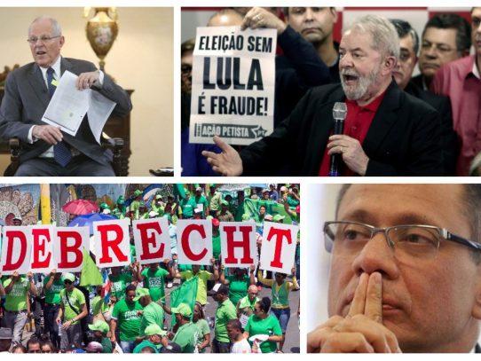 Los líderes latinoamericanos en jaque durante 2017 por el escándalo Odebrecht