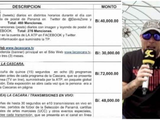 Frenadeso difunde pagos del gobierno de Martinelli a La Cáscara