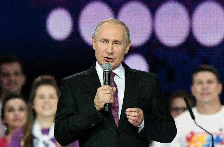 Vladimir Putin, candidato para un cuarto mandato en 2018