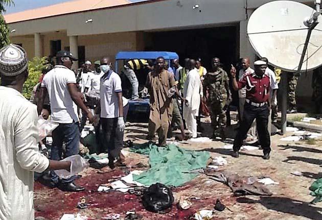 Al menos 13 muertos y unos 50 heridos tras doble atentado en Nigeria