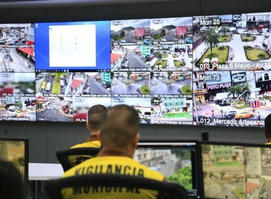 Nueve mil situaciones campadas por el centro de videovigilancia capitalino en dos meses y medio