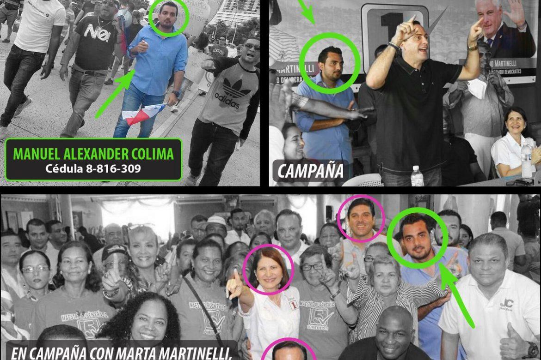 Panameñistas aseguran que sujeto que llevó turba a la casa de Varela es activista del CD
