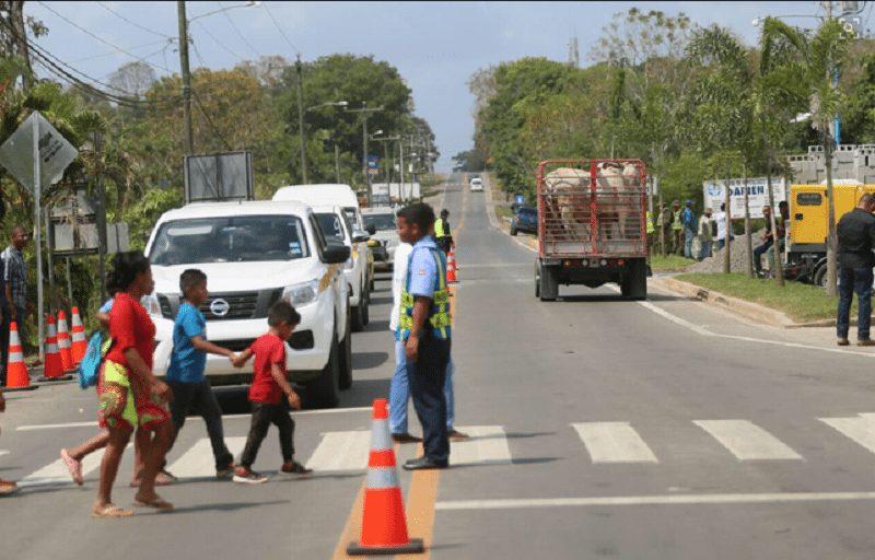 Entregan más de 110 kilometros de carretera en Darién