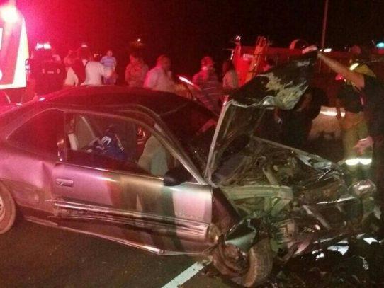Un víctima fatal y varios heridos deja accidente en Guararé de Los Santos
