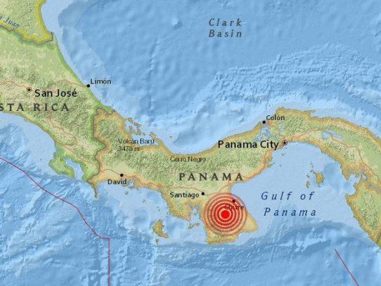 Temblor de 5.8 sacude Panamá