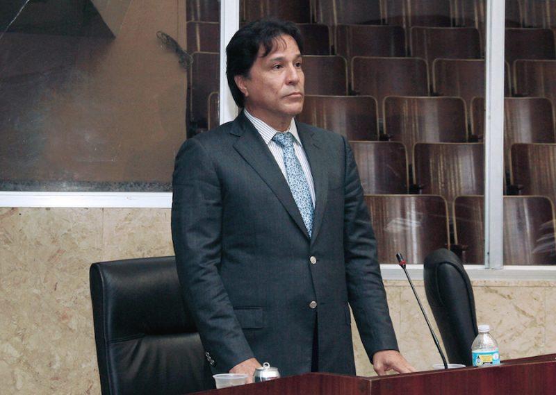 Pancho Alemán, el único ausente en votación que rechazó a Moore y Tovar