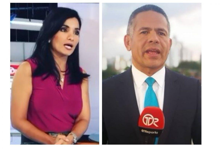 Vanessa Calviño y Hugo Famanía despedidos de Medcom
