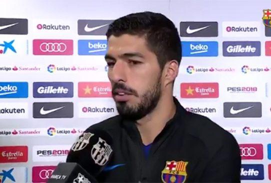 """Suárez está """"muy contento"""" por volver a jugar con su """"amigo"""" Coutinho"""