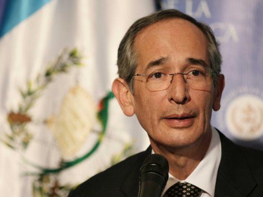 Detenido expresidente guatemalteco Álvaro Colom