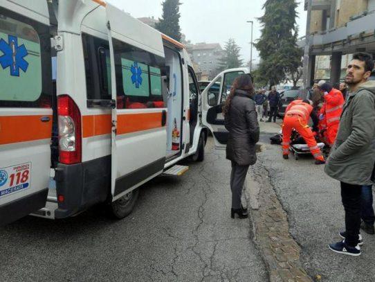 Varios heridos por disparos en una ciudad del centro de Italia
