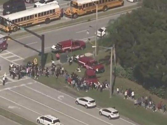 Un tiroteo en una escuela de Florida deja víctimas fatales