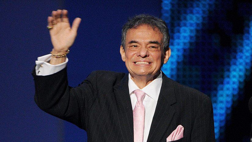 El cantante mexicano José José está hospitalizado en Miami