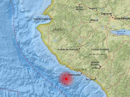Sismo de magnitud 5,9 sacudió México