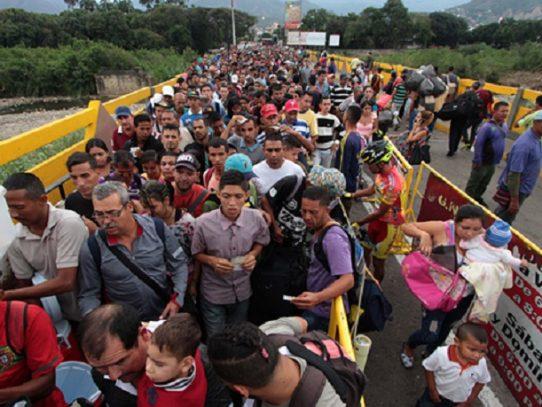 """Panamá pidió en cumbre prepararse para """"éxodo masivo"""" en Venezuela"""