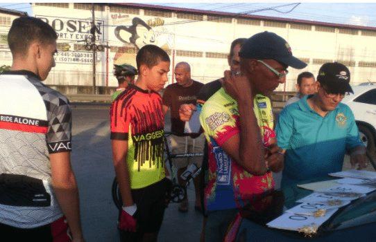Realizan carrera de ciclismo por fundación de la ciudad de Colón