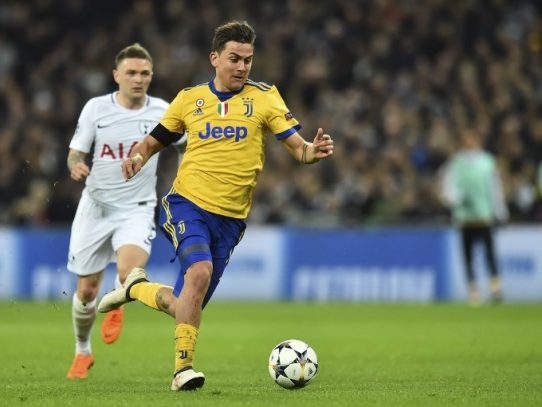 Juventus a cuartos de final, venció 2-1 a Tottenham por Champions League