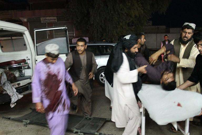 Al menos 13 muertos en atentado con coche bomba en el sur de Afganistán