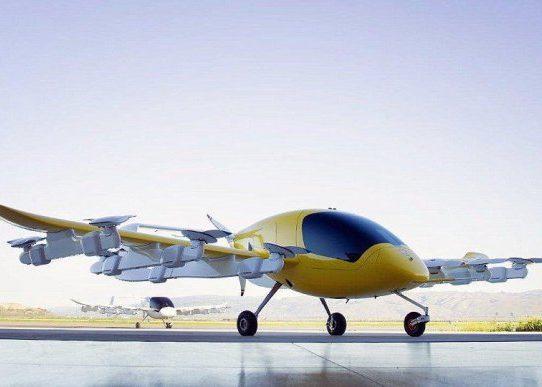 El gurú de Google prueba taxis voladores en Nueva Zelanda