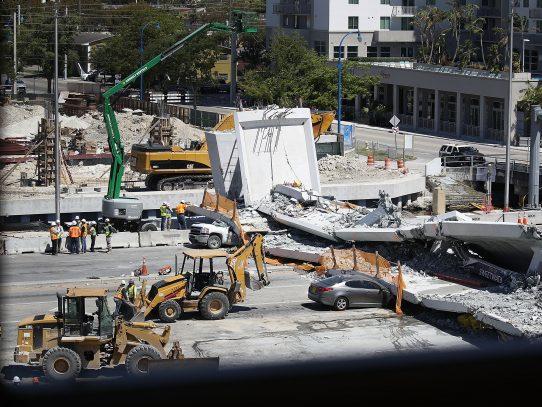 SPIA pide citar a MCM tras colapso de puente que rehabilitó en EE.UU