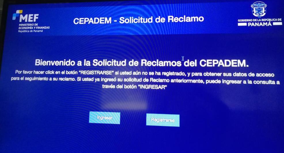 Formulario digital del CEPADEM estará disponible a partir del 4 de abril