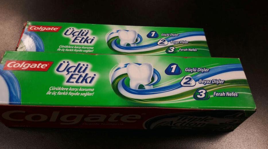 """Minsa  advierte a la ciudadanía no comprar o utilizar  la pasta """"Colgate"""" Üclü Etki"""