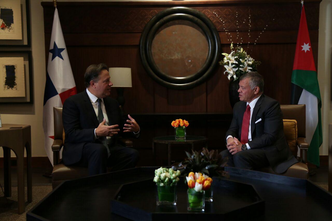 Varela anuncia decisión de iniciar proceso de apertura de embajada en Jordania
