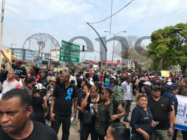Anuncian 24 horas de huelga adicional en Colón