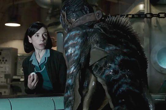 """""""La forma del agua"""" y el romance del cine con los monstruos"""