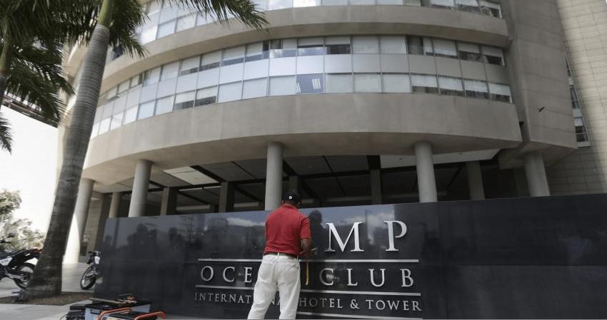 Abogados de la marca Trump piden intercesión de Varela en disputa por hotel