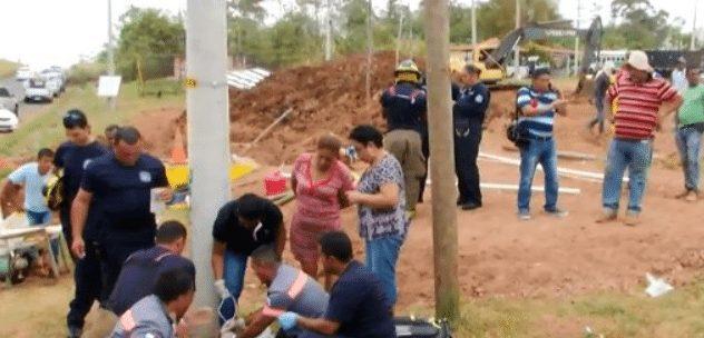 Mueren 2 obrero tras caer a un sistema de alcantarillados en La Chorrera