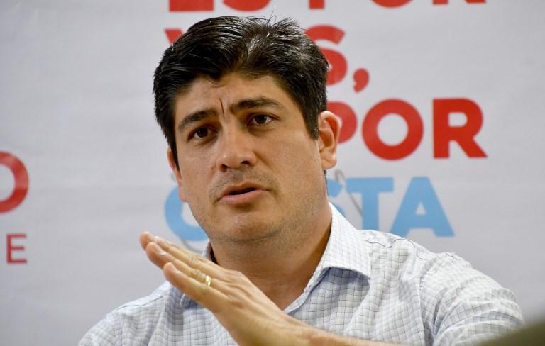 Carlos Alvarado, electo como nuevo presidente de Costa Rica