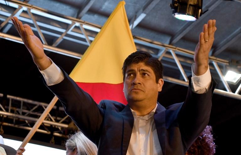 Pesidente electo en Costa Rica comienza a buscar alianzas para gobernar