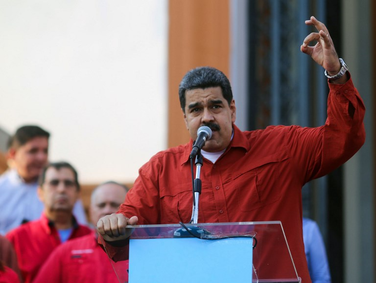 Parlamento venezolano aprueba antejuicio simbólico contra Maduro