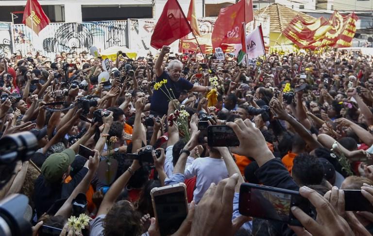 """Lula: """"Voy a cumplir con la orden"""" de prisión"""