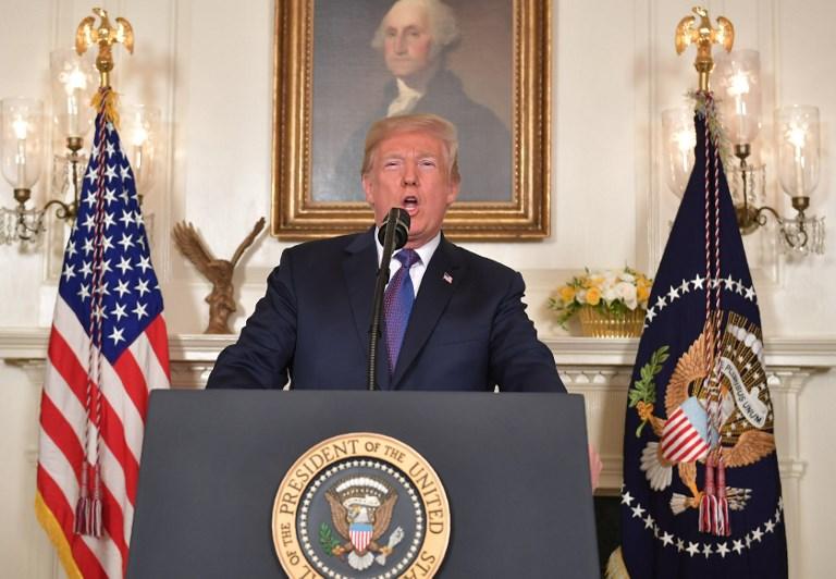 Trump ordenó acción militar contra Siria, en coordinación con París y Londres