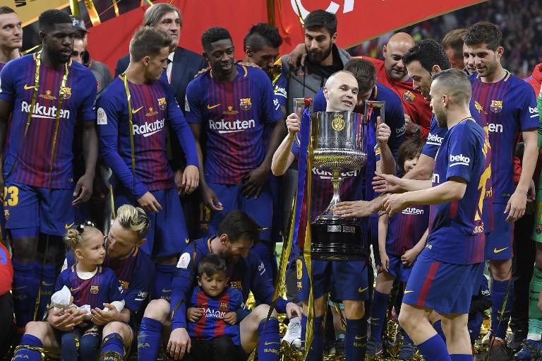 El Barcelona gana su 30ª Copa del Rey con una 'manita' al Sevilla