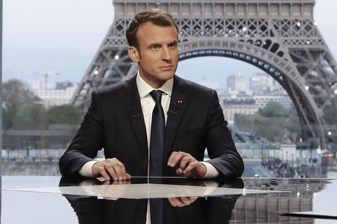 """Macron: """"Francia no declaró la guerra al régimen de Bashar al Asad"""""""