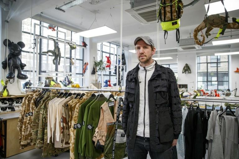 Christopher Raeburn, el diseñador estrella del reciclaje