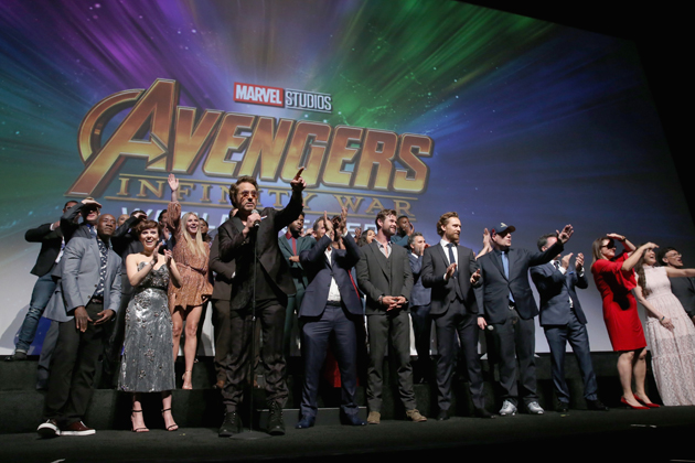 'Avengers' bate récord mundial al recaudar USD 630 millones en su estreno