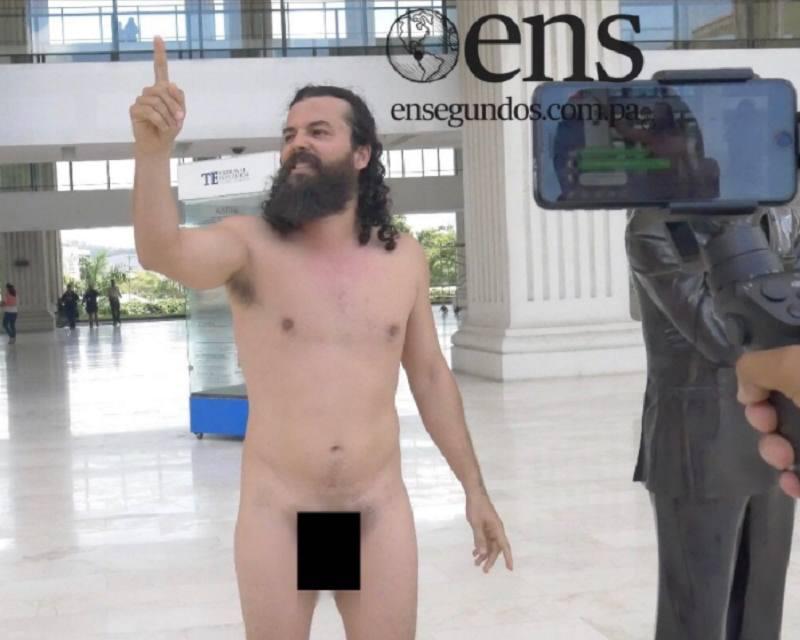 Presentan denuncia contra Alfredo Belda por desnudarse en la sede del TE