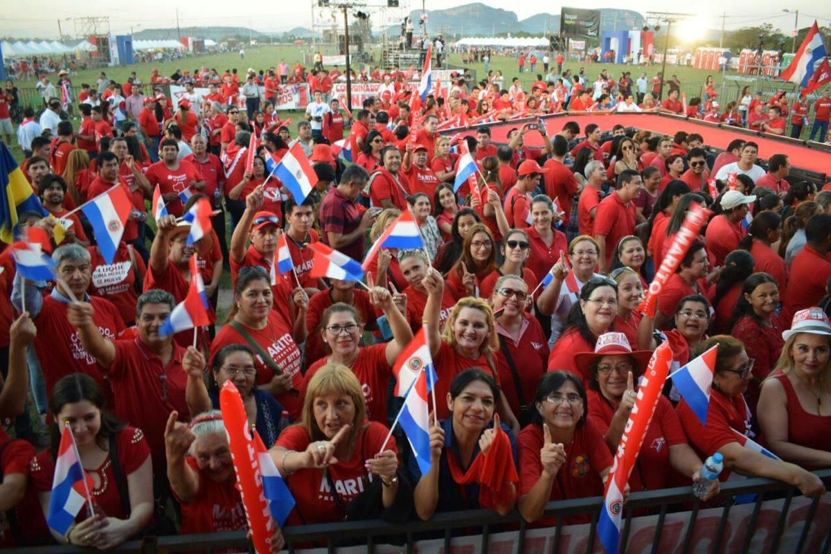Cierra campaña por la presidencia de Paraguay