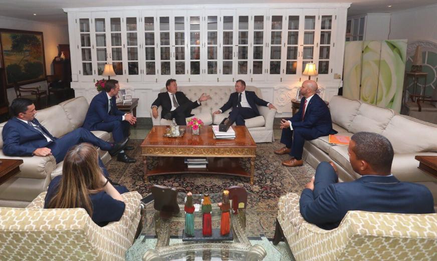 Panamá y Reino Unido evalúan oportunidades para incentivar el intercambio comercial