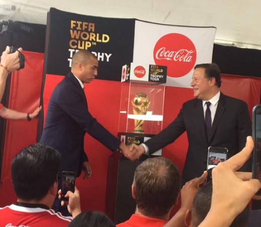 Copa del Mundo de la FIFA llega a Panamá