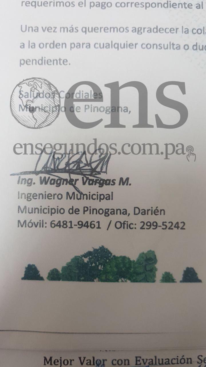 Ingeniero municipal de Pinogana ejercía cargo sin tener el título