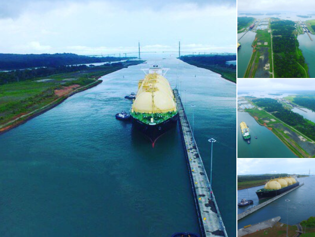 Canal de Panamá recibe tránsito inaugural del buque neopanamax LNG Sakura