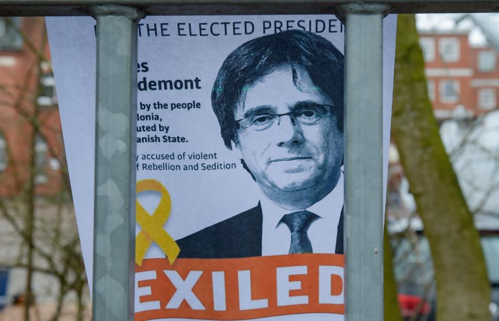 La fiscalía alemana pide la extradición de Puigdemont a España