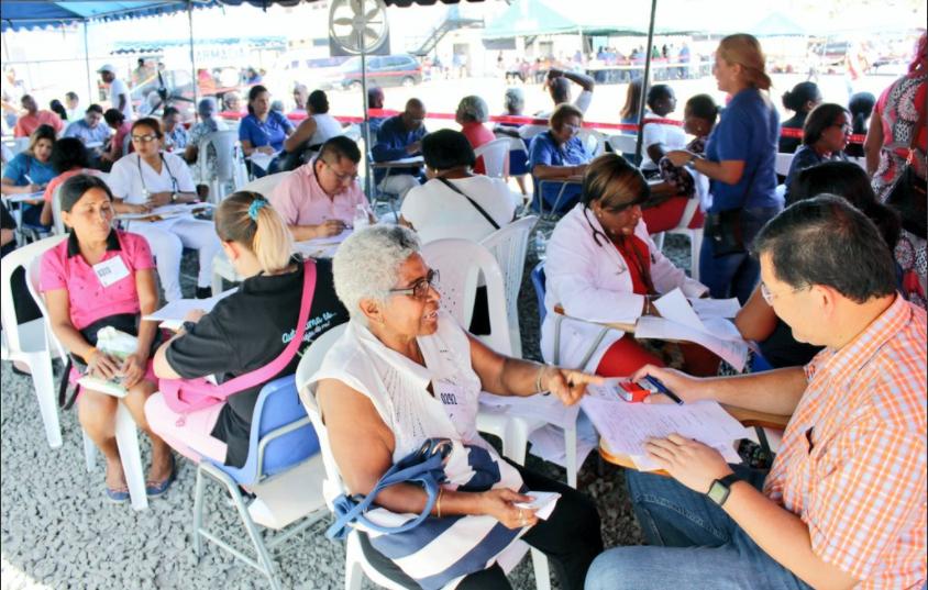 3 mil personas atendidas en Mega Censo de Salud en Colón