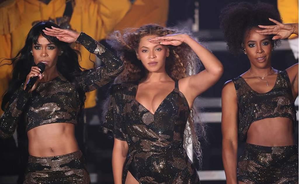 Beyoncé sorprende en festival Coachella con reunión de Destiny's Child