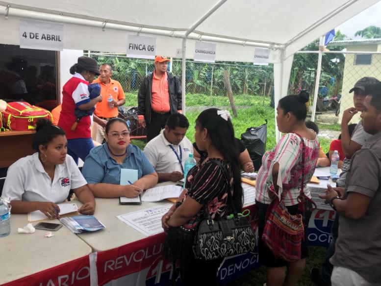 PRD realiza inscripción masiva en el país previo a sus elecciones primarias